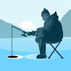 Pesca en el hielo. Juego gratis de pesca. Pescado! icon