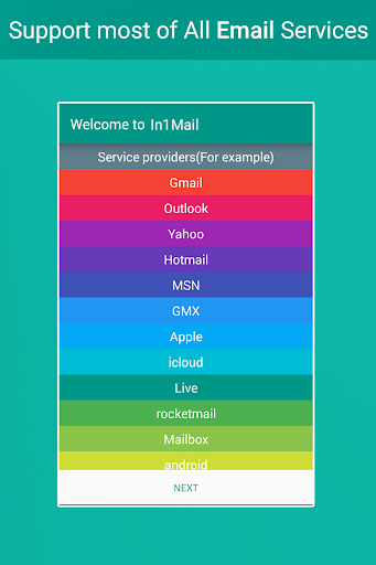 In1Mail All Emails In One