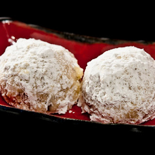 Black Walnut Snowball Cookies