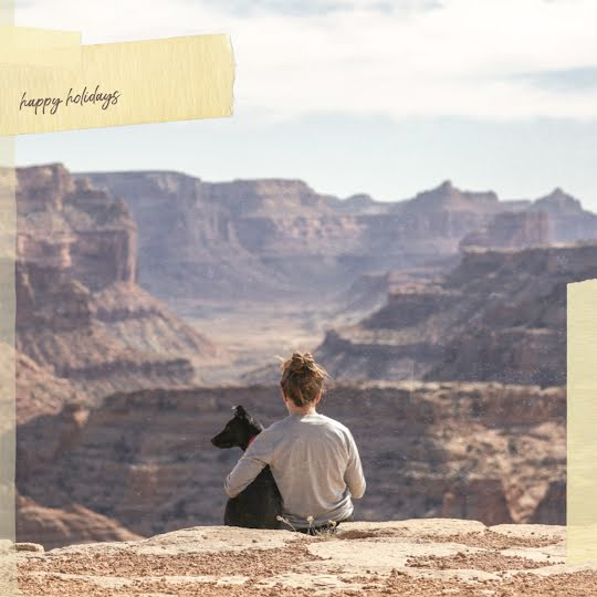 Canyon Happy Holidays - Christmas Template