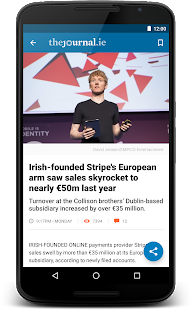 TheJournal.ie News- screenshot thumbnail