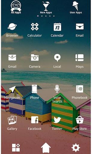 Theme-Colorful Beach Shacks- 1.0.1 Windows u7528 3