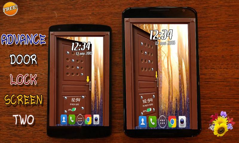 android Advance Door LockScreen 2 Screenshot 0