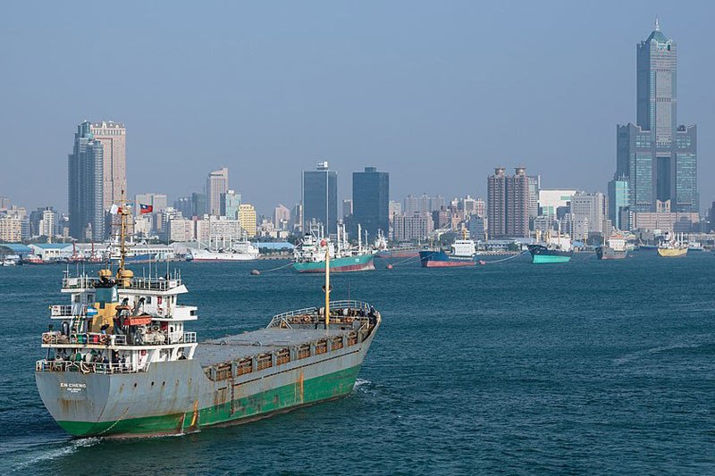 Морские перевозки изТайваня