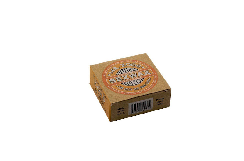 SEXWAX QUICK HUMPS SURF WAX ECO BOX: X-Cold to Cold