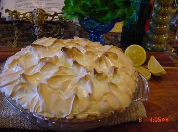 Bonnie's Lemon Meringue Pie