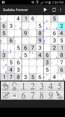 Sudoku Forever - screenshot