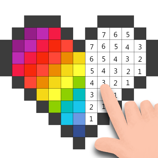 Pixel - Color by Number & Art Coloring Pages Icon