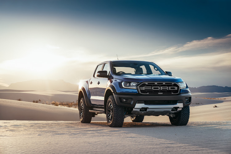 Ranger Raptor has a high-performance 157kW engine and uprated suspension. Picture: SUPPLIED