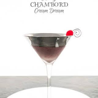 Cherry Chambord Cream Dream.