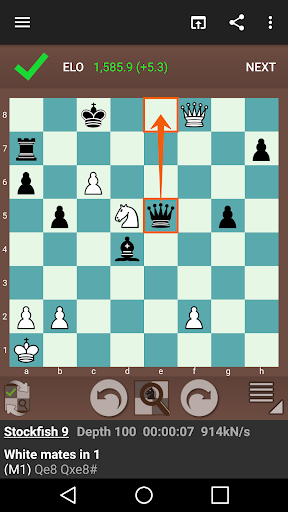 Fun Chess Puzzles Free - Play Chess Tactics 2.7.8 screenshots 2