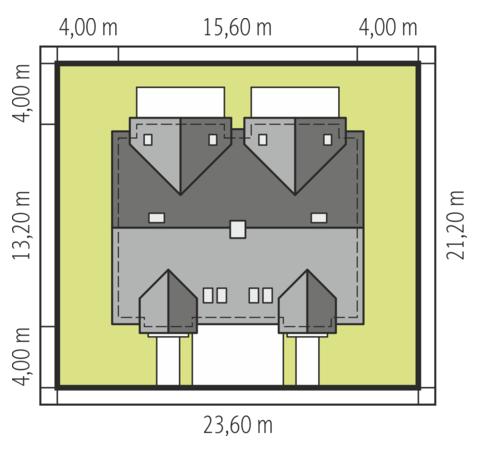 Sambor G2 dwulokalowy - Sytuacja