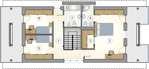 Garda III - Rzut piętra