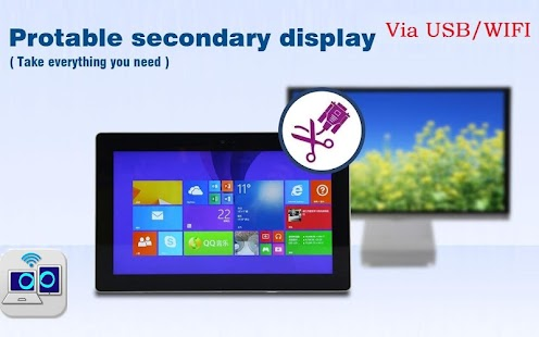 Air Duet Screen-Second Display Screenshot