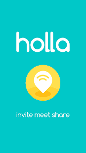 holla - invite, meet, share- screenshot thumbnail