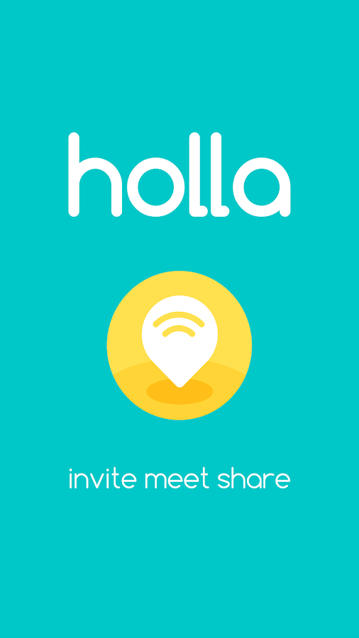 holla - invite, meet, share- screenshot