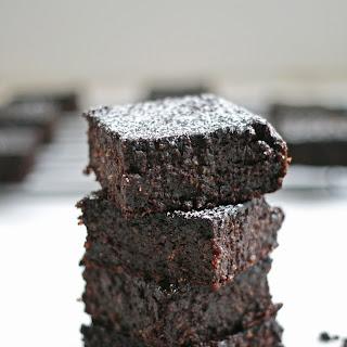Healthy Quinoa Brownies.