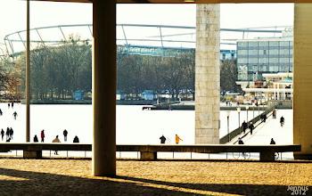 Photo: Hannover geht  in diesem Winter auf's Glatteis