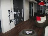 Photo: Instalacion de TV y receptor de satelite en pared