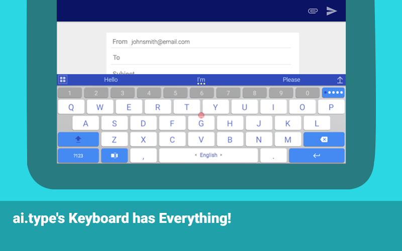 ai.type keyboard Plus + Emoji Screenshot 9