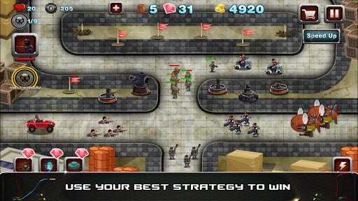 TD Zone: King Of Tower Defense Strike Rush 1.5 screenshots 1
