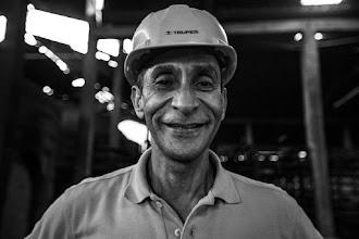 Photo: Jorge Eliécer el trabajador de los ladrillos
