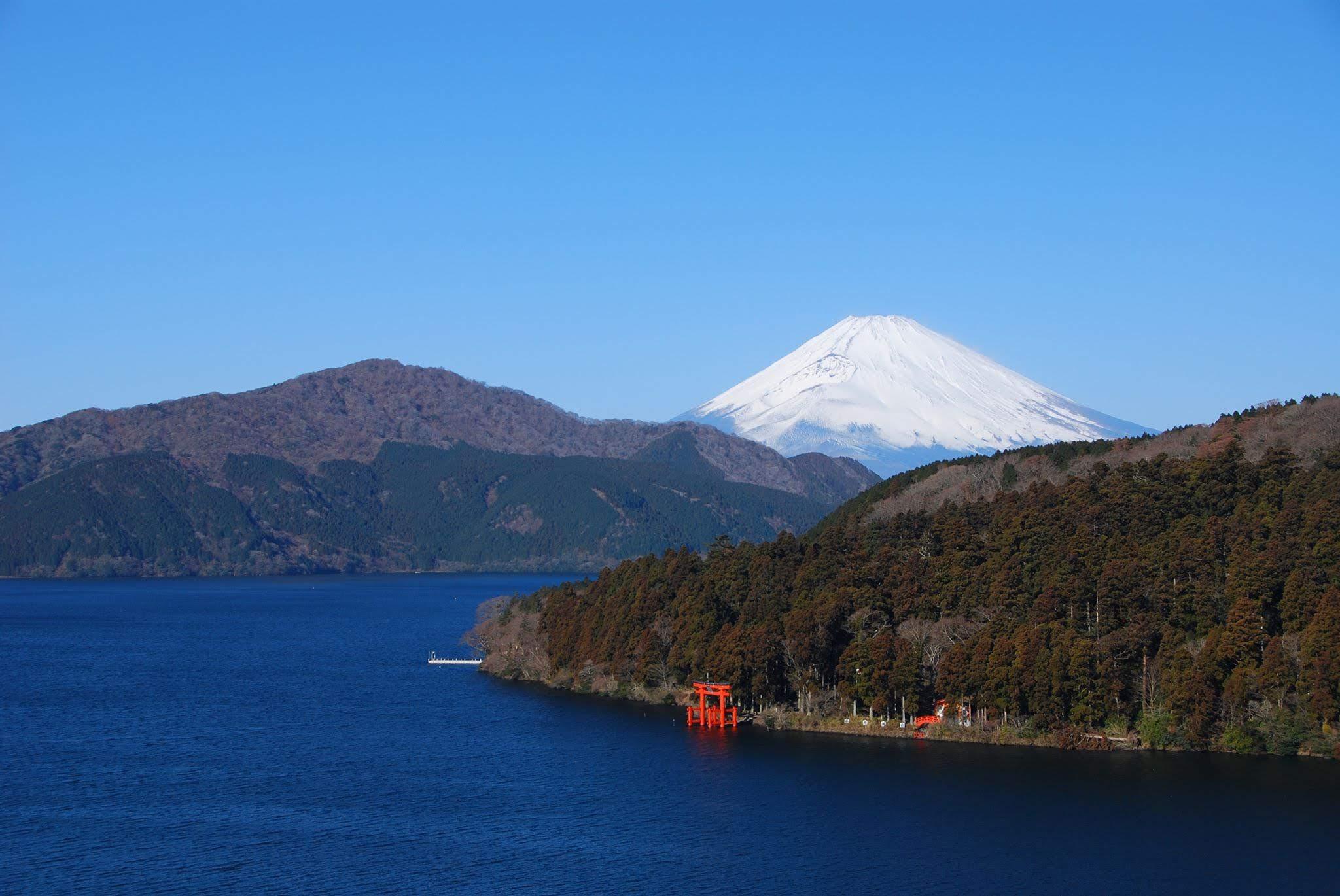 Kết quả hình ảnh cho Hồ Ashinoko