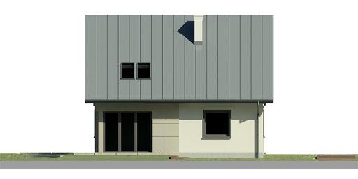 Dom przy Cyprysowej 2 - Elewacja lewa