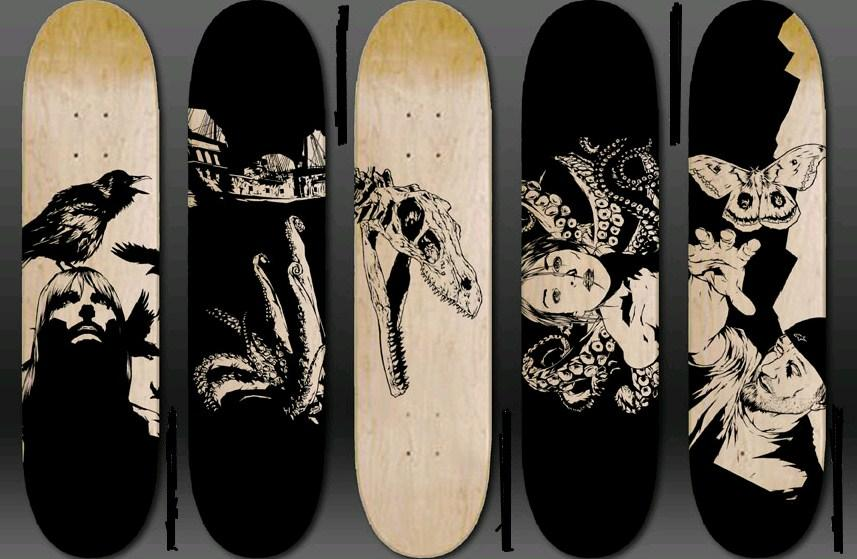 Make Your Own Skateboard Design Game