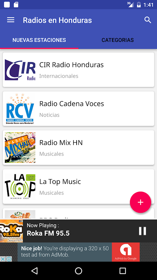 Radios en Honduras- screenshot
