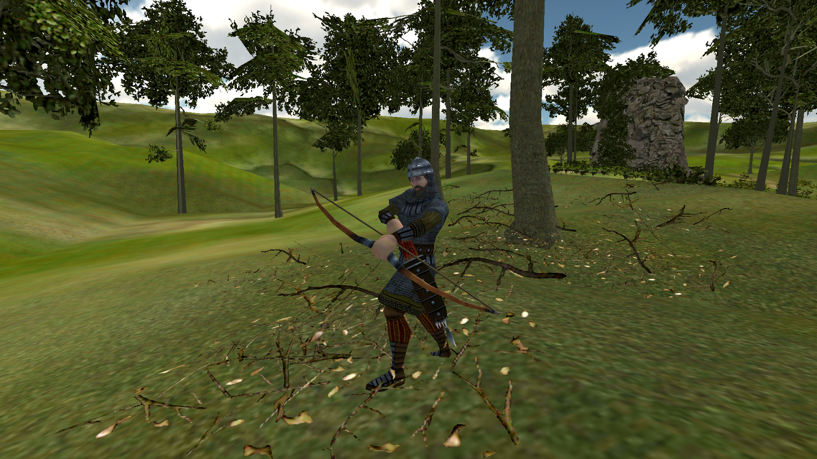 Archer Forest Action- screenshot