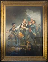 "Photo: Original painting ""Freedom of 76"" in Marblehead Massachusetts"