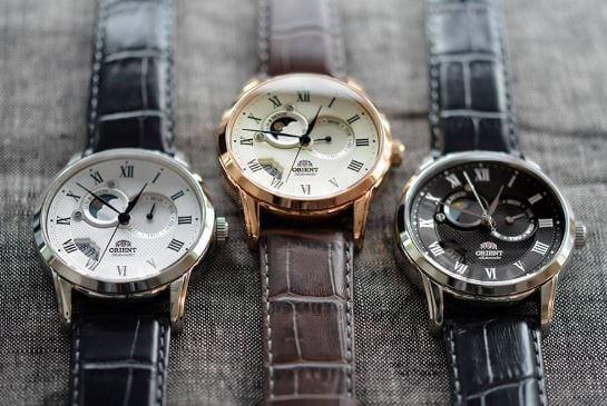 cách phân biệt đồng hồ Orient
