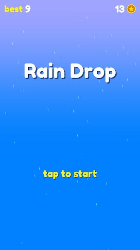 Rain Drop - falling from the sky