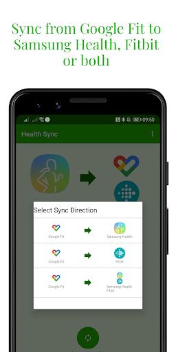 Capturas de pantalla de Health Sync 4