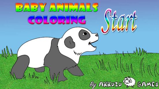 Yavru Hayvanlar Boyama Oyunu Google Playde Uygulamalar