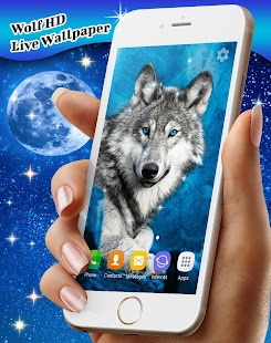 Wolf Live Wallpaper HD - náhled