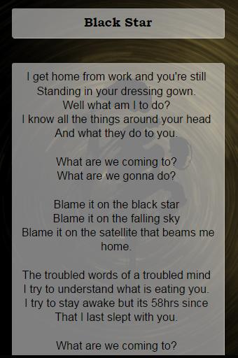 Radiohead Lyrics Apk Download Apkpure