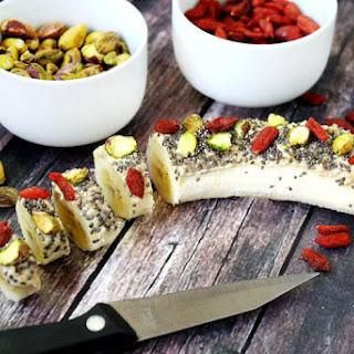 Cashew Butter Banana Sushi (Raw, Vegan, Gluten-Free, Dairy-Free, Paleo-Friendly, No Refined Sugar) Recipe