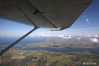 Photo: Straks forlater vi Jylland og setter fart over Kattegat til Göteborg.