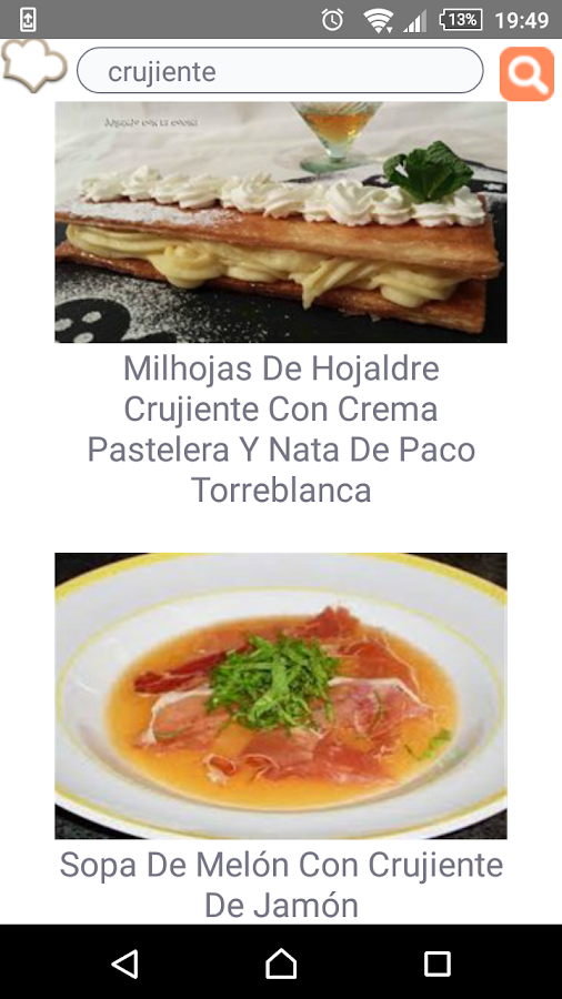 Receta Por Dia- screenshot