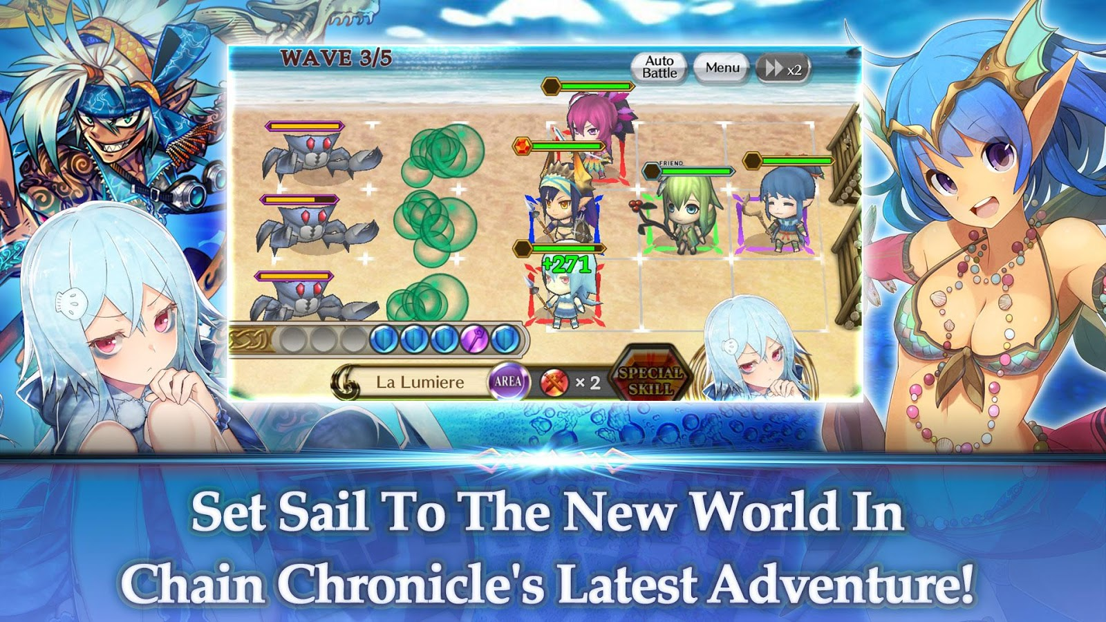 Chain Chronicle mod apk