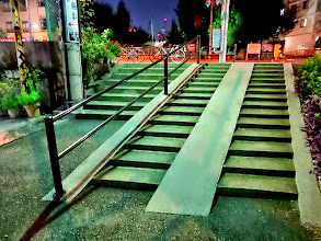 Photo: 見事な二重階段