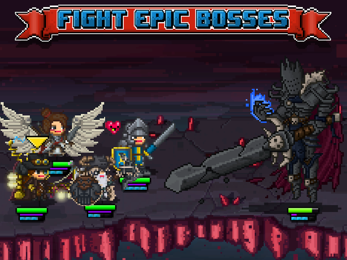 Bit Heroes- screenshot
