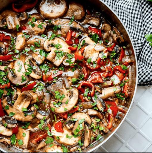 Italian Sauteed Mushrooms
