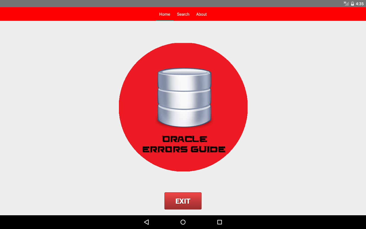 Oracle Db 11g Errors Guide Android Apps On Google Play