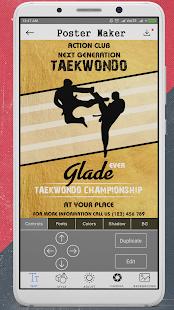 poster maker flyer design banner maker ad maker app report on