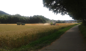 Photo: #harvest    one of the last wheat fields...................