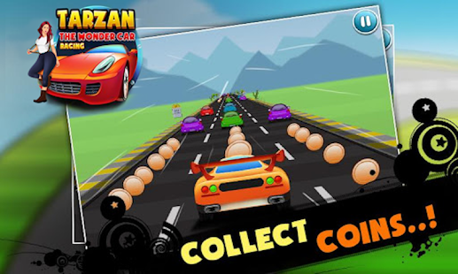 Tarzan the wonder car racing game