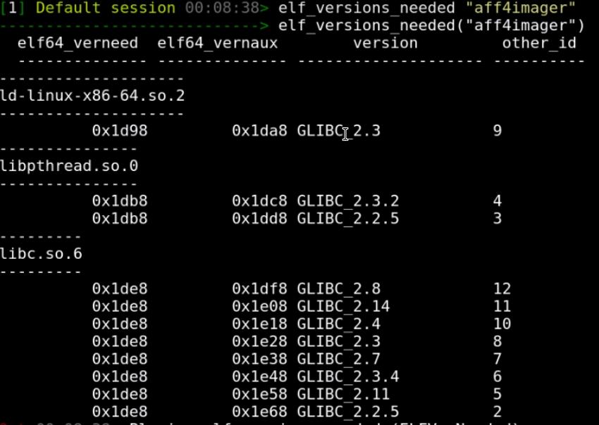 Rekall Forensics blog: ELF hacking with Rekall